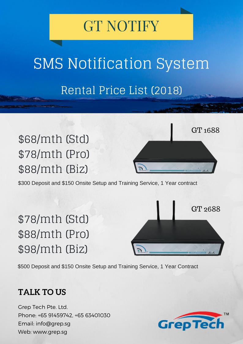 GT Notify - Rental Package